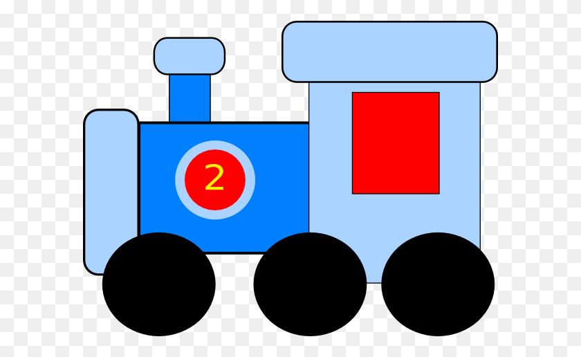 Train Clip Art Vector Train Graphics Image - Train On Tracks Clipart