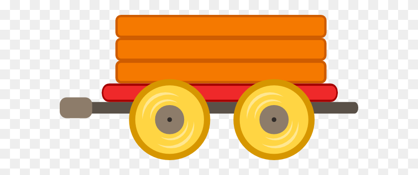 Train Clipart Train Wagon - Train Clipart