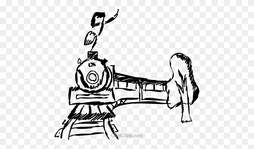 Loco Train Carriage Clip Art