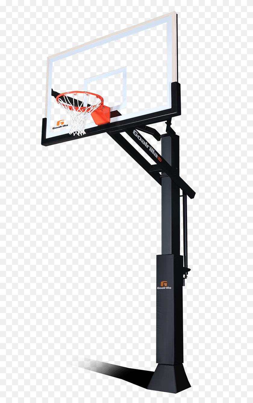 Transparent Basketball Hoop Free Download Clip Art - Basketball And Hoop Clipart