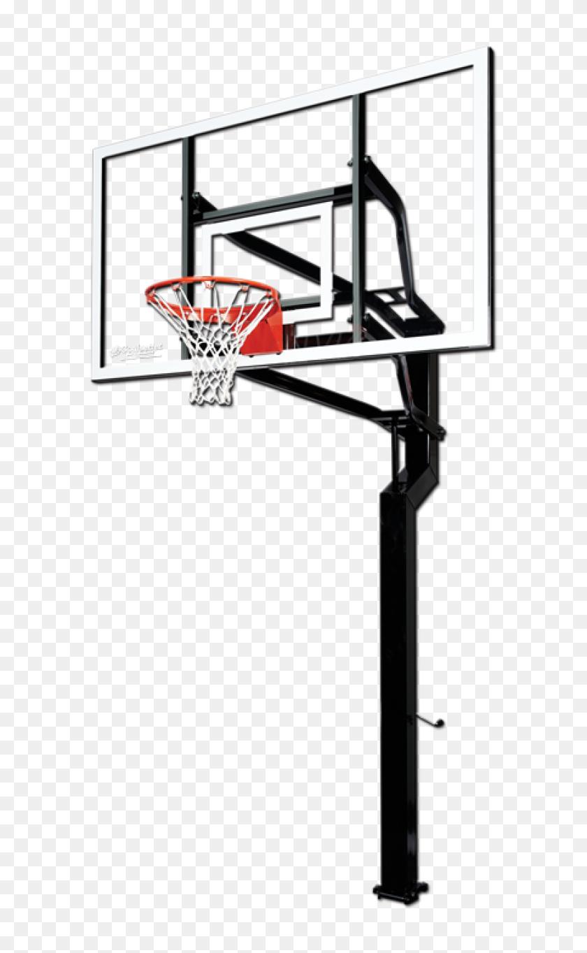 600x1304 Transparent Basketball Hoop Free Download Clip Art - Basketball Backboard Clipart