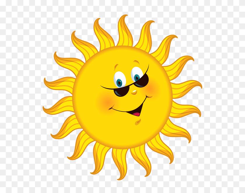 Transparent Cartoon Sun Png Clipart Picture Imagens - Sun Emoji PNG