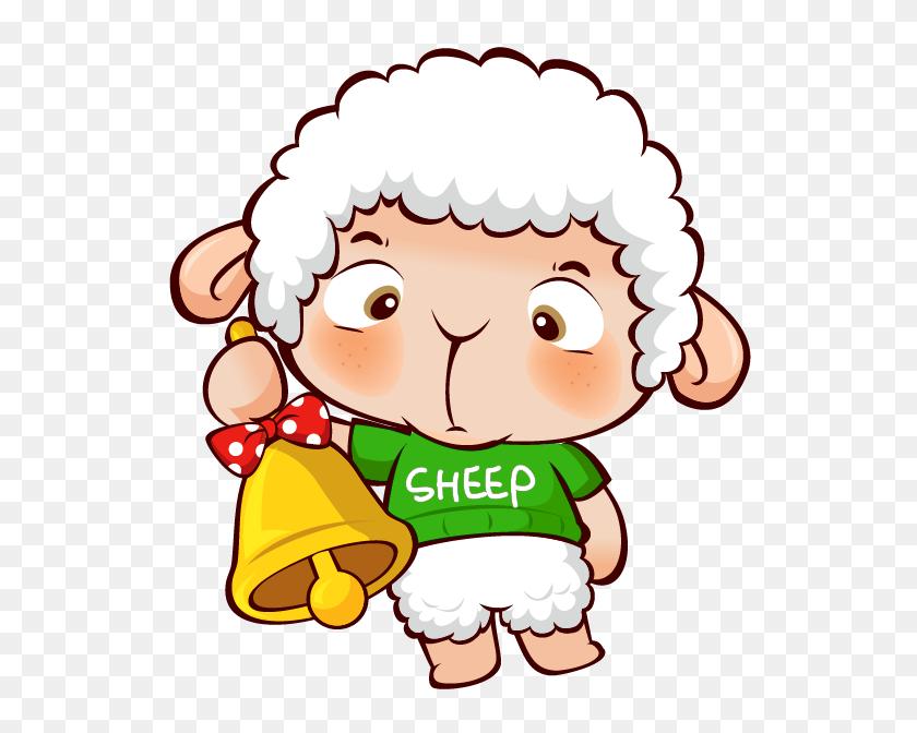 Transparent Christmas Sheep Png - Sheep Clipart