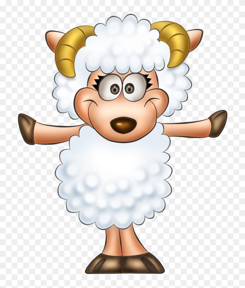Transparent Cute Sheep Clipart - Sheep Clipart