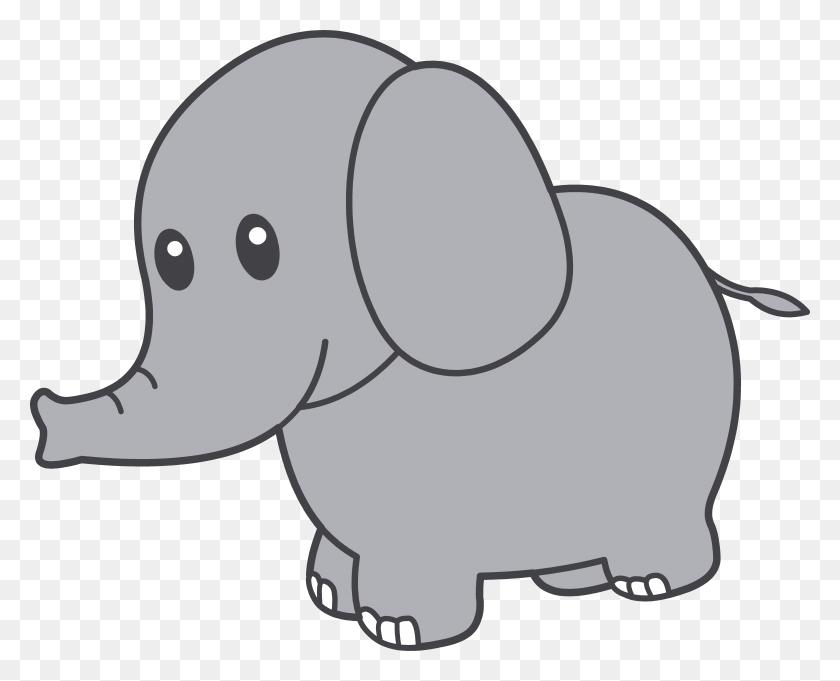 6062x4830 Transparent Elephant Clipart Clip Art Images - Sad Clipart Black And White