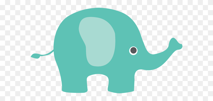 Transparent Elephant Clipart Clip Art Images - Mom And Baby Elephant Clipart