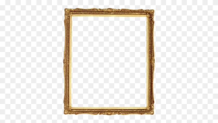 Transparent Frames - Gold Frame PNG