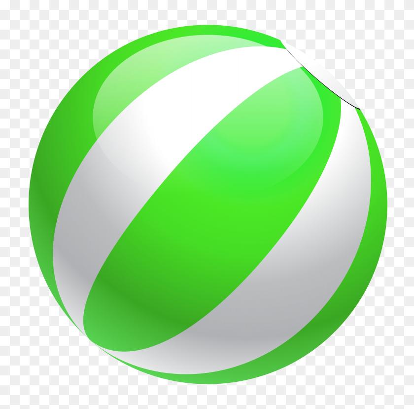 3899x3840 Transparent Green Beach Ball Png - Beach Ball PNG