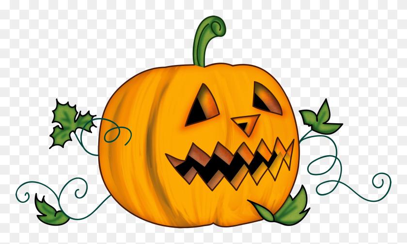 Transparent Halloween Clipart Halloween Pumpkin Clip Art Fall - Scary Halloween Clipart