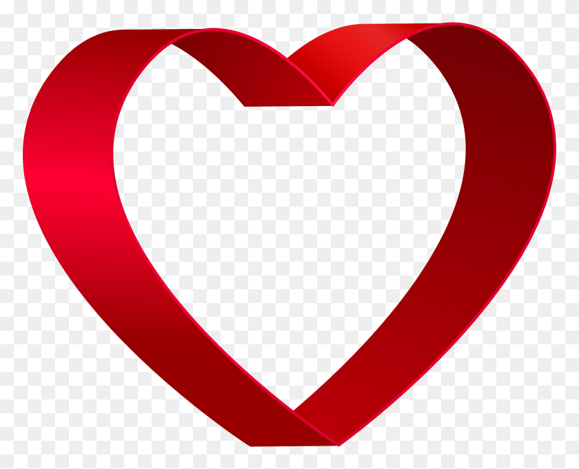 Transparent Red Heart Shape Png Clip - Heart Shape Clipart