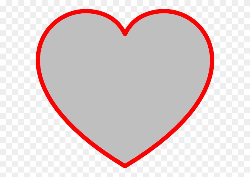Transparent Shapes Cliparts - Heart Shape Clipart