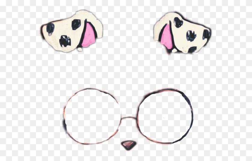 Snapchat Dog Filter Png