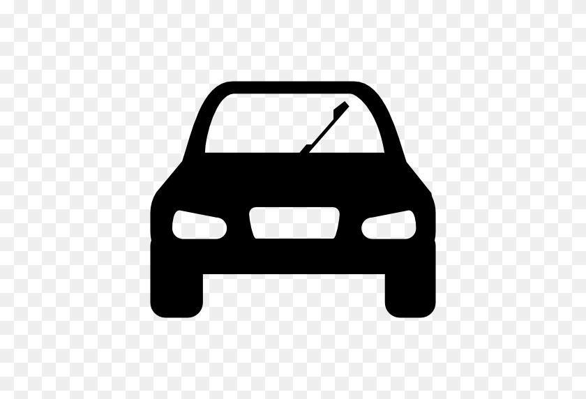 Transport Car Icon - Black Car PNG