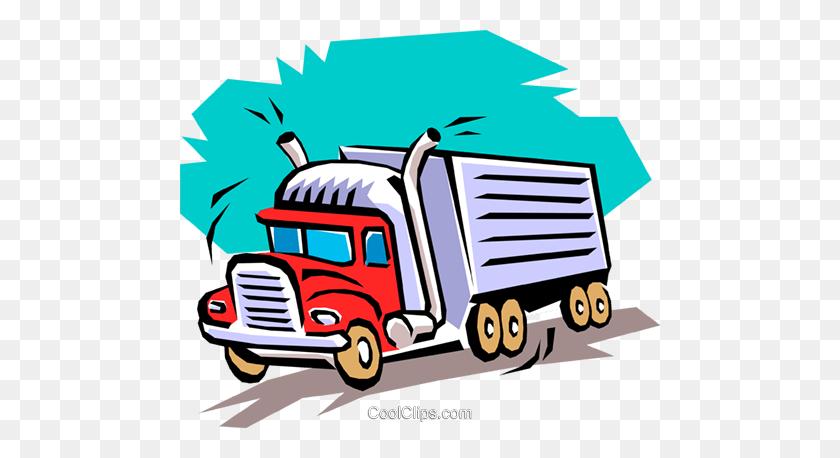 Transport Truck Driver Clipart - Truck Driver Clipart