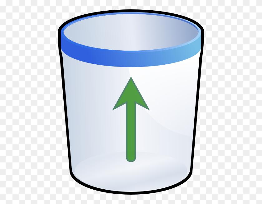 468x593 Trash Bin Clip Art Free Vector - Take Out The Trash Clipart