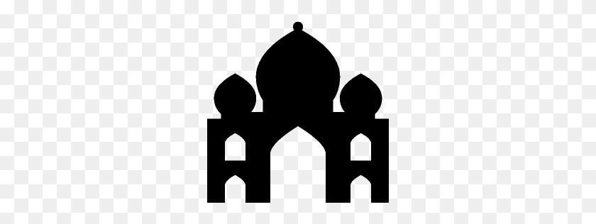 256x256 Travel Taj Mahal Icon Windows Iconset - Taj Mahal Clipart