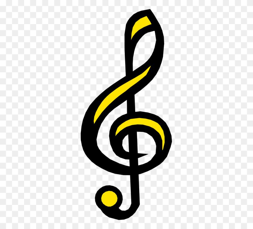 Treble Clef Musical Symbol - Treble Clef Clip Art
