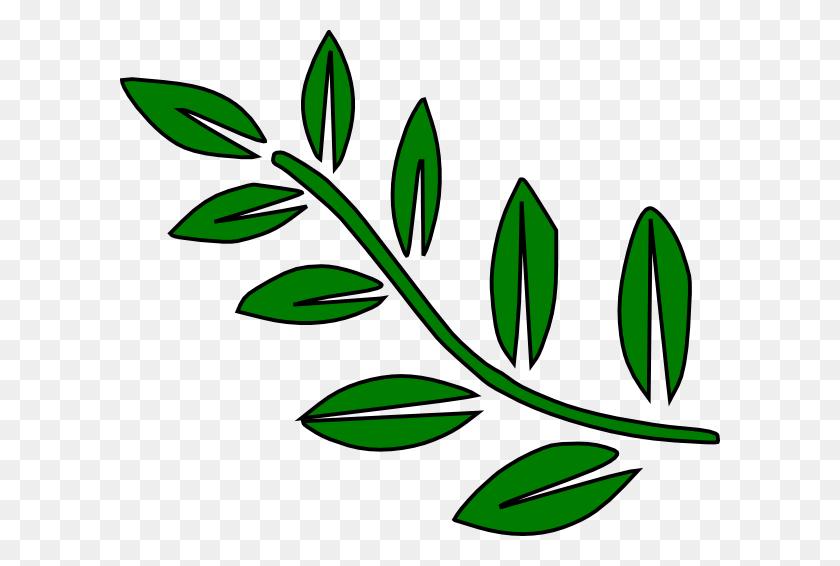 Tree Branch Clip Art Free Image - Palm Branch Clip Art