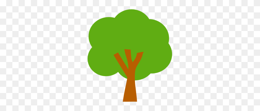 Tree Clip Art - Simple Snowflake Clipart