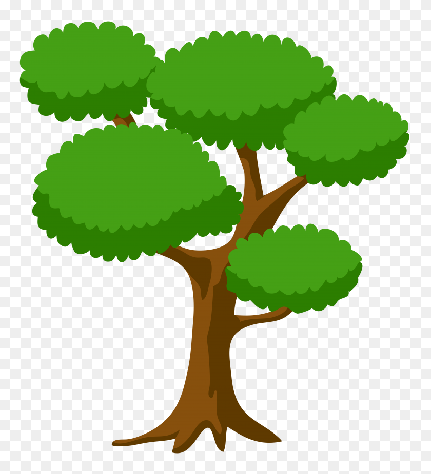 Tree Large Png Clip Art - Trees Clipart PNG