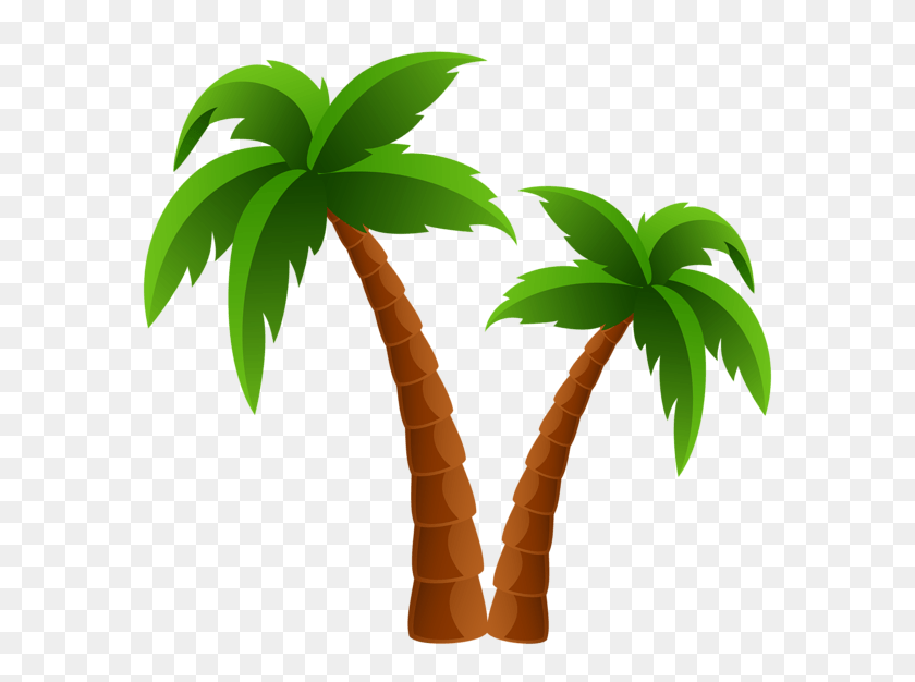 Trees Cliparts - Christmas Palm Tree Clip Art