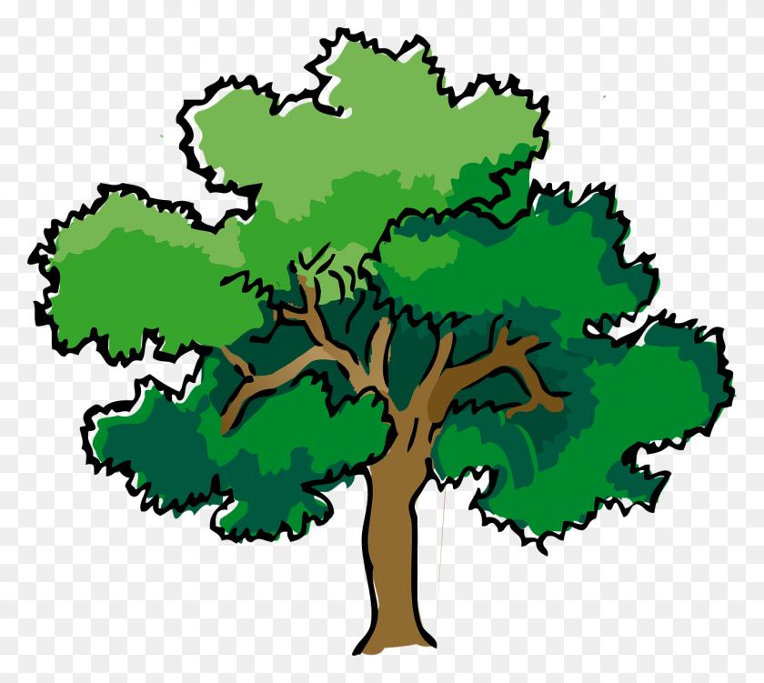 Trees Steemit - Runoff Clipart