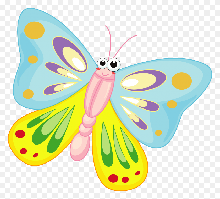 Trend Butterfly Cartoon Pics Free Images Download Clip Art - References Clipart