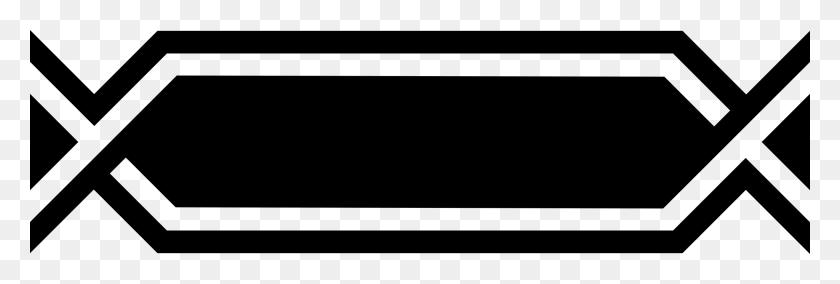 2400x690 Tribal Borders Clipart Ethnic Borders Clip Art Native American - Native American Clipart Black And White