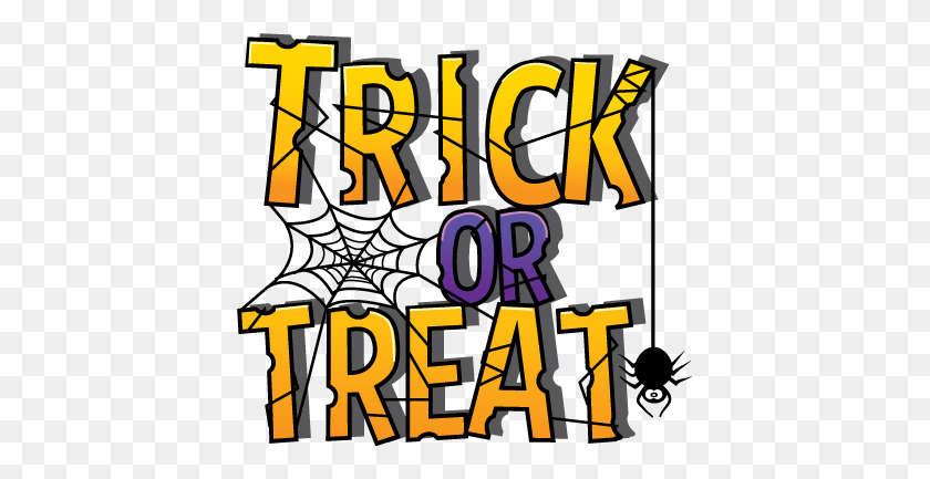 Trick Or Treat Colouring Pictures Trick Or Treat Images Clipart - Oh The Places You Ll Go Clipart Free