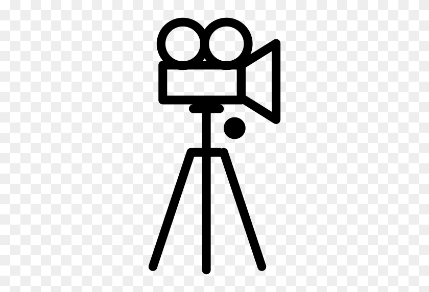 Tripod Andvideo, Camera Tripod, Photography Icon With Png - Tripod Clipart