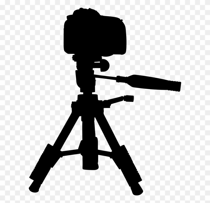 Tripod Video Cameras Silhouette - Video Camera Clip Art