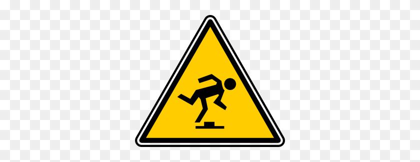 Tripping Hazard Clip Art - Be Careful Clipart