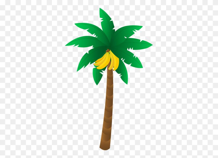 Tropical Banana Tree Diorama Tropical, Banana, Tree Crafts - Palm Tree Island Clipart