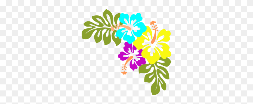 Tropical Luau Clipart Hawaiian Free Luau Clip Art Hawaiian - Black Panther Necklace Clipart
