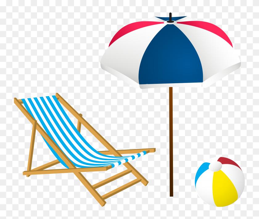 Tropical Summer Clip Art Set Illustrations On Creative Market - Tropical Border Clipart