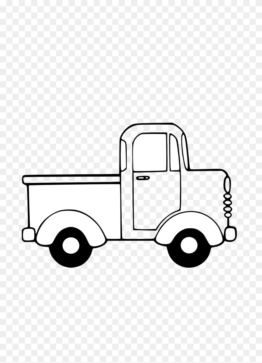 Truck Black And White Semi Truck Clipart Black And White Free - Firefighter Truck Clipart