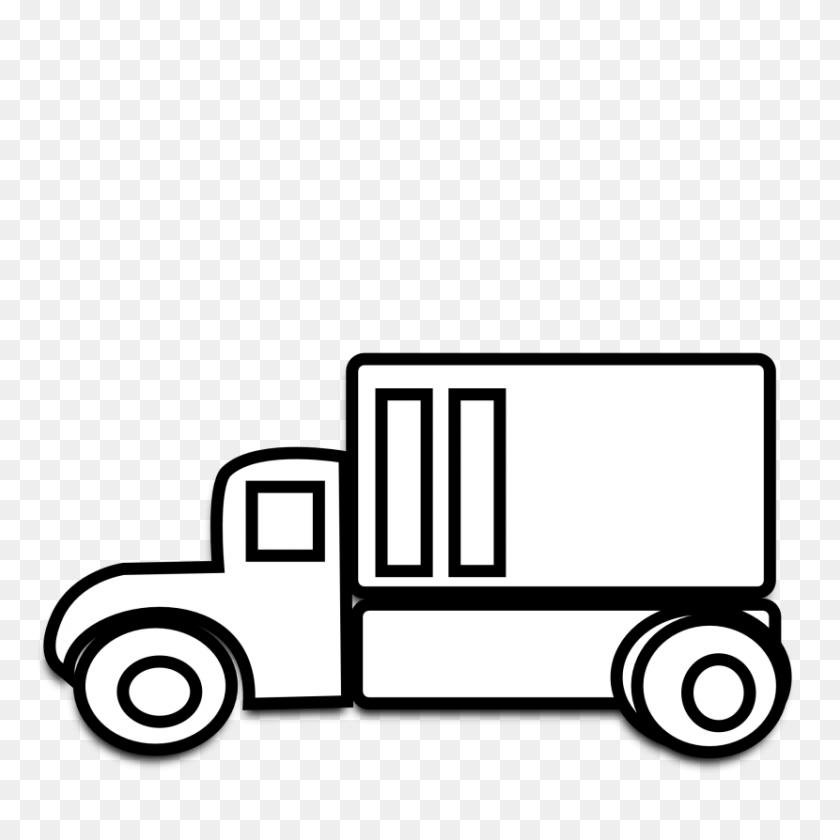 Truck Clipart - Mail Truck Clipart