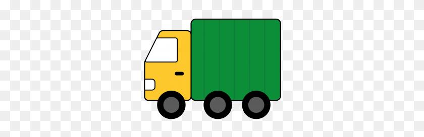 Truck Clipart Cute - Ups Truck Clipart