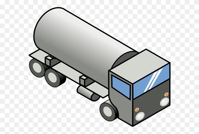 Truck Clipart Fuel Truck - Truck Driver Clipart