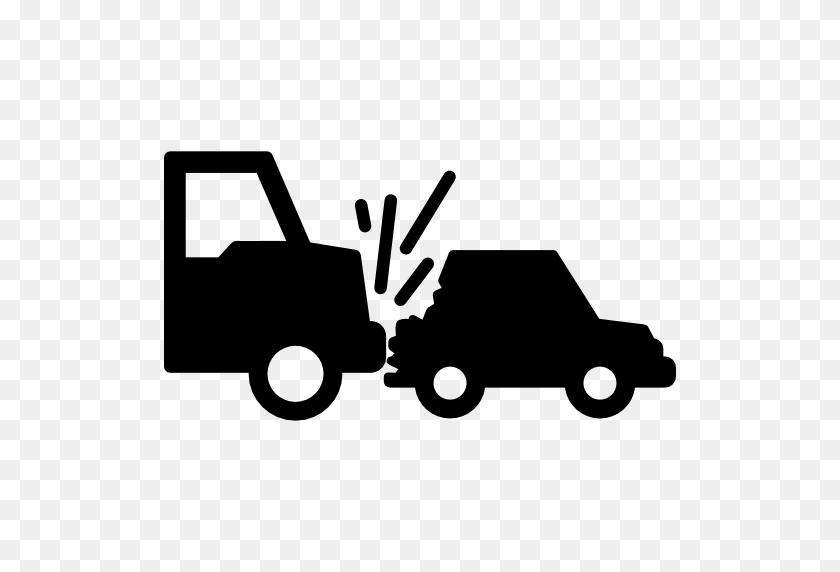 Truck Crash Car - Car Crash PNG