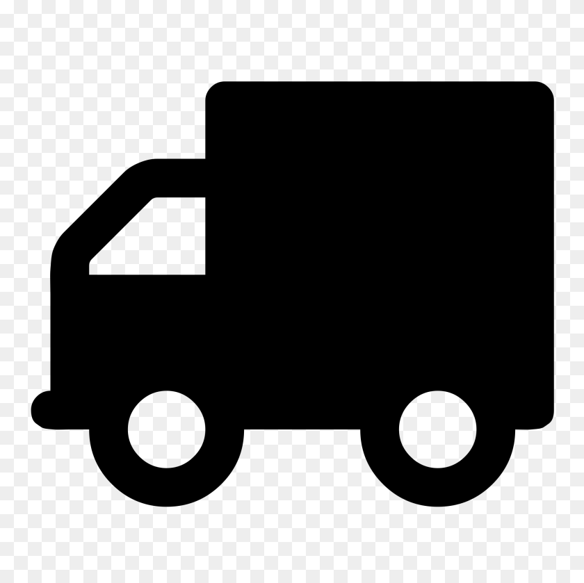 Truck Font Awesome - Truck Icon PNG