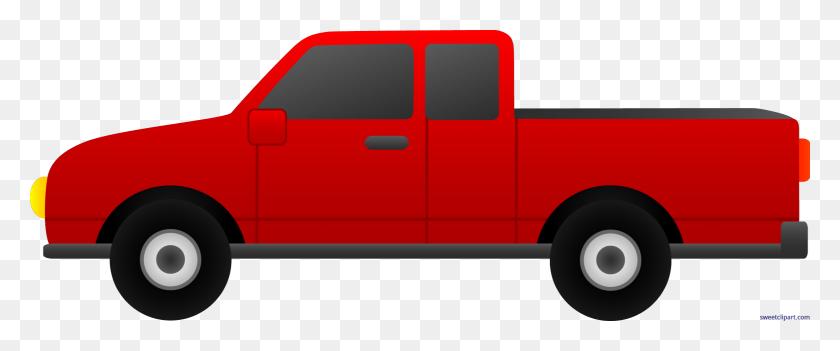 Truck Red Clip Art - Mail Truck Clipart