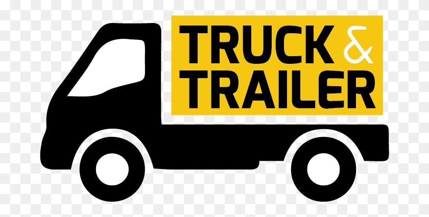 Truck Trailer Shop - Truck And Trailer Clip Art