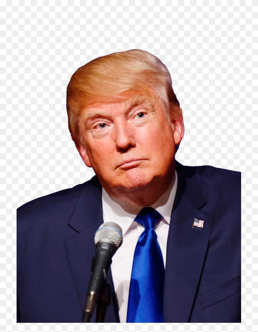 Trump Transparent - Trump Face PNG