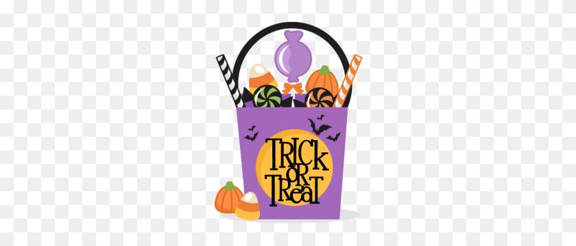 Trunk Or Treat Trick Or Treat Bag Scrapbook Cute - Dog Treat Clipart
