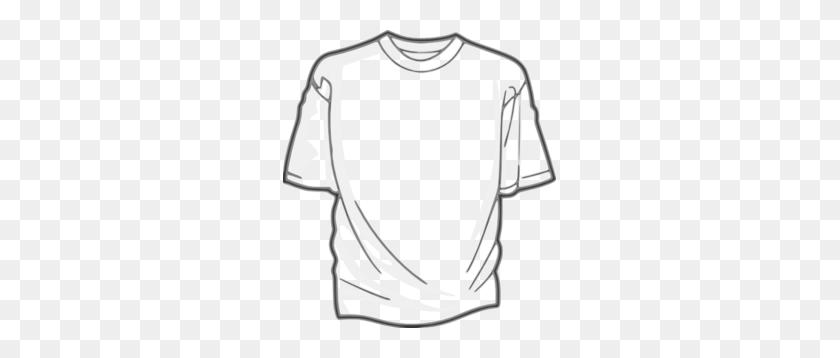 273x298 Tshirt Template Clip Art - T Shirt Template PNG
