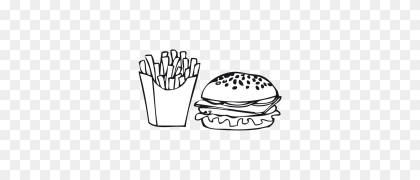 Chips Clipart Chip Shop - Chips Clipart Black And White