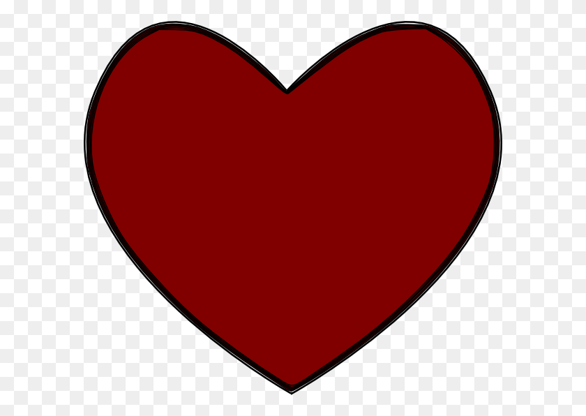 Tucontiofis Clip Art Heart - Modest Clipart
