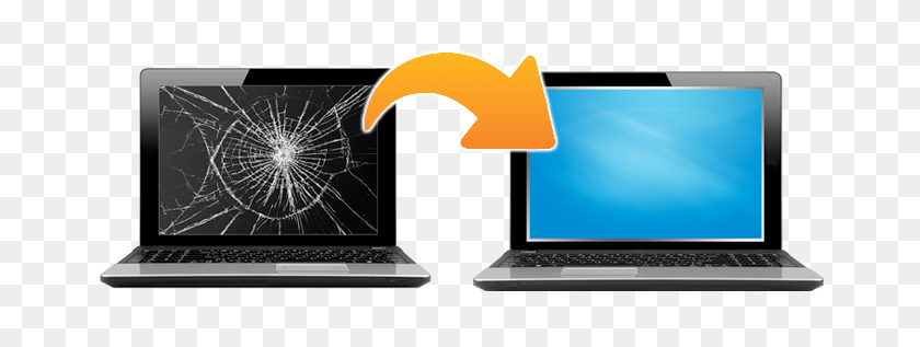 Tucson Computer Laptop Repair Services - Screen Crack PNG