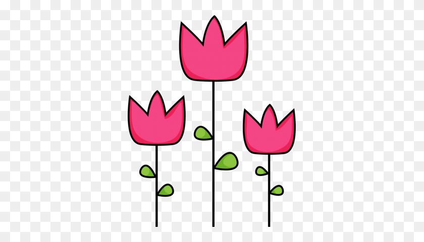 Tulip Clipart Black And White Tulip Clipart - Tulips Clipart Black And White